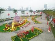 Đà Nẵng- 2,5 tỷ đồng trang trí đường hoa 'Xuân rực rỡ'
