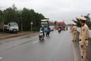 CSGT Quảng Bình- Tăng cường kiểm tra xe khách vi phạm sau Tết