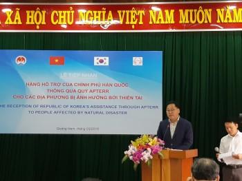 Hàn Quốc hỗ trợ 10 nghìn tấn gạo cho người dân miền Trung- Tây Nguyên