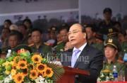 Thủ tướng dự Lễ xuất quân bảo vệ an ninh và tổng diễn tập phương án bảo vệ APEC 2017