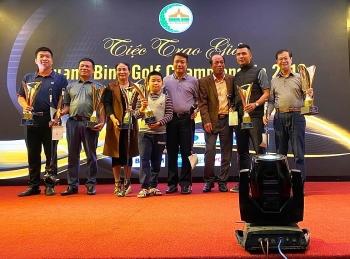 quang binh golf championship 2019 hon 3 ty dong duoc ho tro cho nguoi ngheo