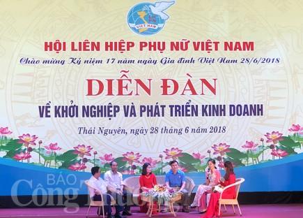 thai nguyen tao dong luc thuc day phu nu khoi nghiep
