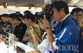 sony show 2018 san choi cong nghe an khach danh cho gioi tre