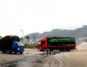 Xuất khẩu qua cửa khẩu quốc tế đường bộ Lào Cai tăng gấp hơn 2 lần