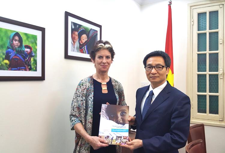 Tin tưởng Việt Nam sẽ thành công trong chống suy dinh dưỡng