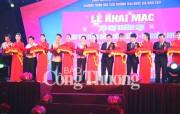 Khai mạc Hội chợ thương mại Đồng bằng sông Hồng - Ninh Bình 2017