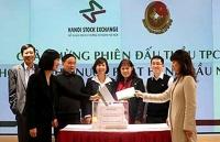 thang 10 huy dong trai phieu chinh phu thong qua dau thau dat thap