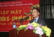 Thứ trưởng Trần Tuấn Anh chúc Tết Trường Đại học Công nghiệp Hà Nội