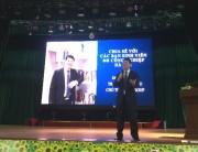 Sinh viên Đại học Công nghiệp Hà Nội: Hào hứng với ngày hội hướng nghiệp