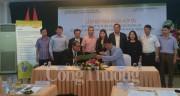 Ký kết thỏa thuận hợp tác phát triển HTX kiểu mới và chuỗi giá trị nông sản