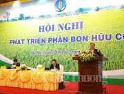 Việt Nam cần 200 triệu tấn phân bón hữu cơ để làm nông nghiệp sạch