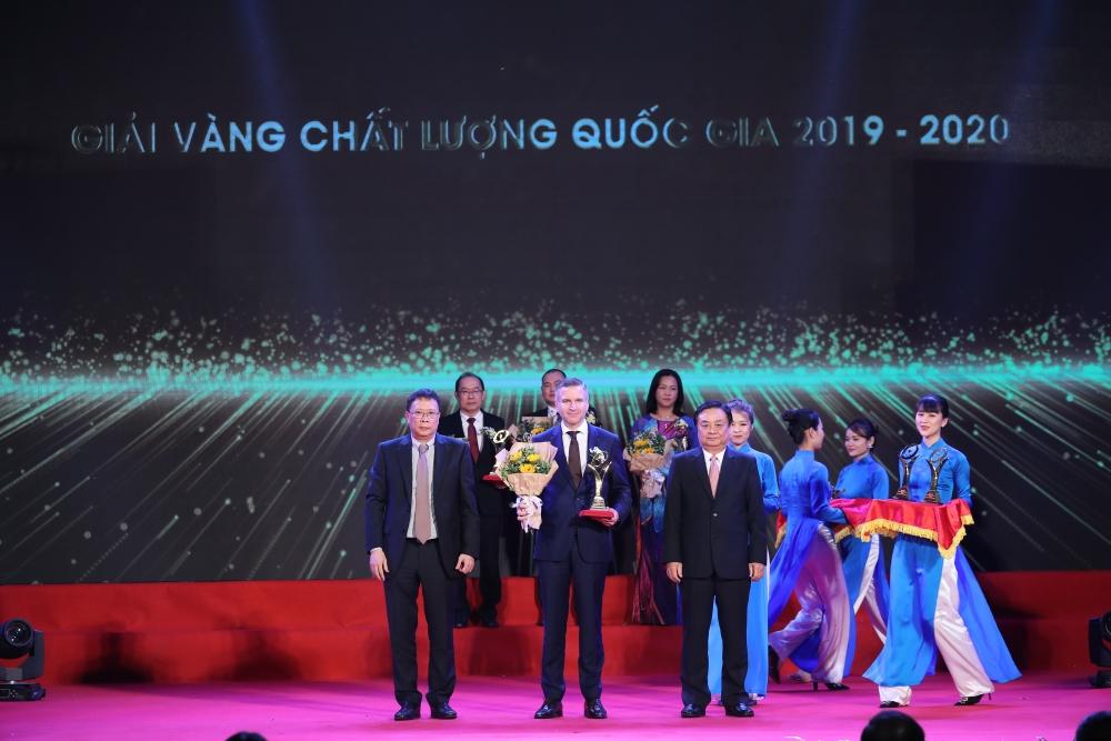 Nestlé Việt Nam Nhận Giải Vàng Chất Lượng Quốc Gia 2020
