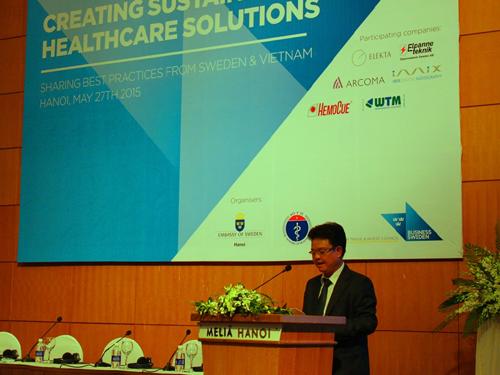 Việt Nam- Thụy Điển: Hợp tác phát triển y tế bền vững