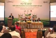 Triển vọng thị trường nông nghiệp Việt Nam 2017