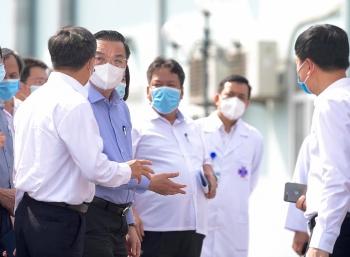 Hà Nội: Sẽ hỗ trợ hết sức để Bệnh viện K thực hiện nhiệm vụ phong tỏa phòng dịch Covid-19