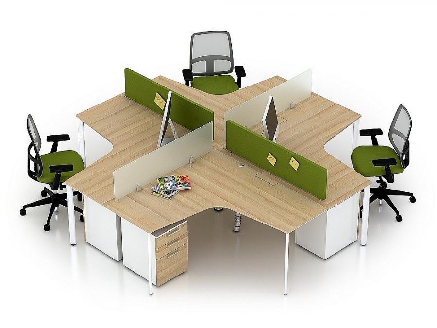Xuất khẩu đồ nội thất văn phòng bằng gỗ tăng mạnh