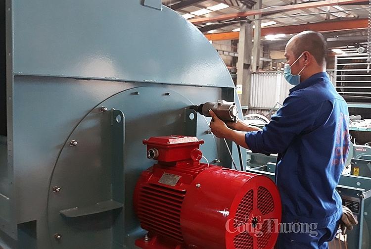 Sản xuất quạt công nghiệp tại Công ty CP Tomeco An Khang