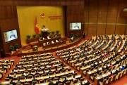 Quốc hội biểu quyết thông qua Luật Quốc phòng sửa đổi