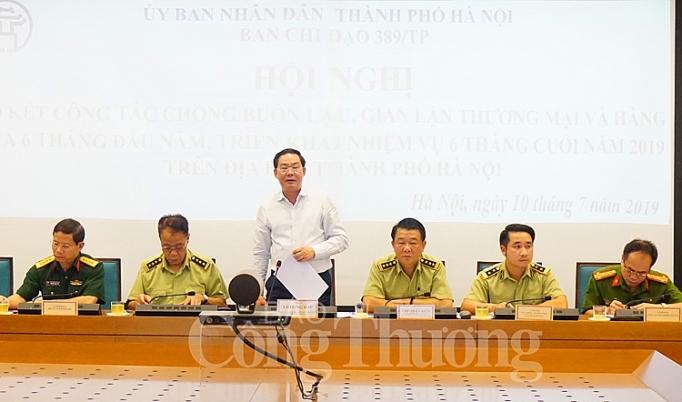 6 thang nam 2019 ha noi da xu ly 11199 vu vi pham buon lau gian lan thuong mai va hang gia