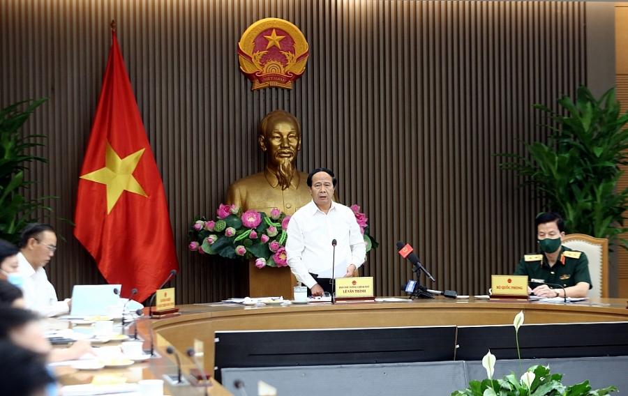 Phó Thủ tướng Lê Văn Thành cho rằng, số lượng tàu vi phạm có giảm nhưng vẫn còn nhiều - Ảnh VGP/Đức Tuân