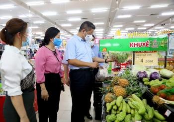 Hà Nội: Bảo đảm lưu thông, tổ chức cung ứng hàng hóa thiết yếu