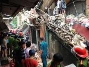 Thông tin về Sự cố sập nhà tại 107 phố Trần Hưng Đạo
