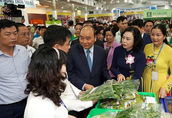 tang co hoi thi truong qua hoi cho hang nong san thu cong my nghe va san pham ocop thu do