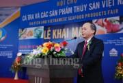 Giới thiệu cá tra và các sản phẩm thủy sản tại Hà Nội