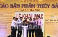 khai mac hoi cho cac san pham thuy san tai ha noi nam 2018