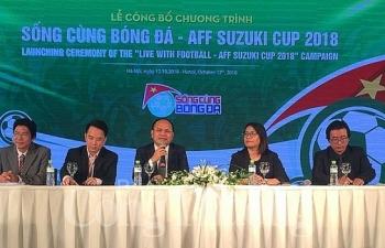 cong bo chuong trinh song cung bong da aff suzuki cup 2018