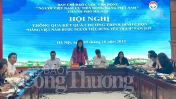 ha noi 205 san pham duoc binh chon hang viet nam duoc nguoi tieu dung yeu thich nam 2019