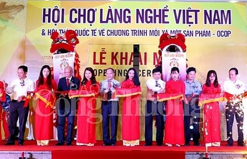 hoi cho lang nghe 2018 phat trien san pham chu luc cua cac lang nghe viet nam