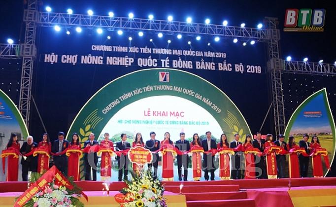 hoi cho nong nghiep quoc te dong bang bac bo nam 2019 thuc day nong san cac dia phuong phat trien