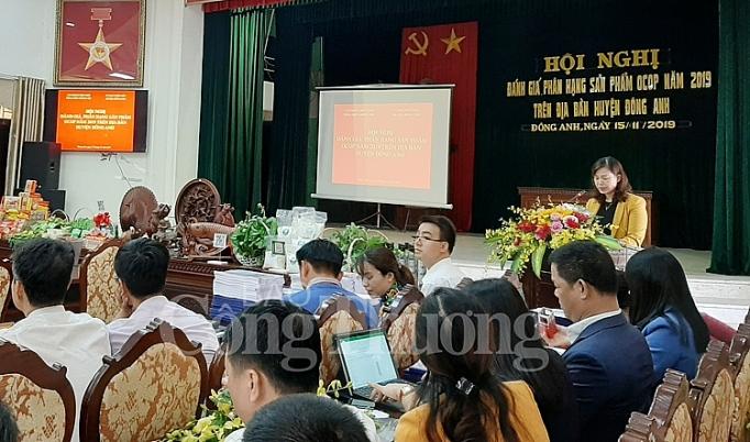 ha noi danh gia phan hang san pham chuong trinh moi xa mot san pham ocop nam 2019