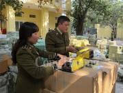 Hà Nội: Thu giữ hàng trăm kiện hàng cơ khí, linh kiện nhập lậu