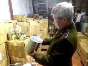 Thu hơn 2 tấn nguyên liệu trà sữa không rõ nguồn gốc của TACO