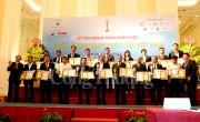 81 tập thể, cá nhân nhận danh hiệu Chất lượng Vàng thủy sản Việt Nam 2017