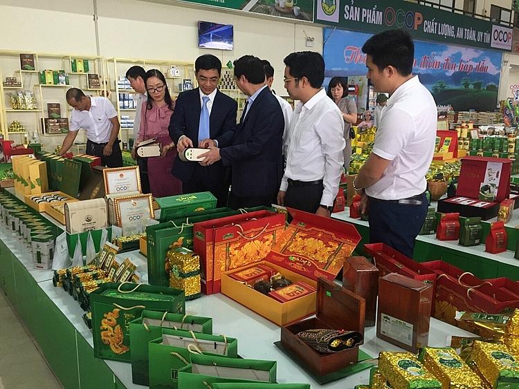 Thái Nguyên: Xúc tiến, quảng bá, nâng tầm thương hiệu sản phẩm OCOP