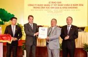 Tập đoàn Hoa Sen nhận giải thưởng Công ty được quản lý tốt nhất châu Á 2016