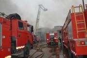 Vĩnh Phúc: Đám cháy tại Công ty Vina Korea đã được khống chế