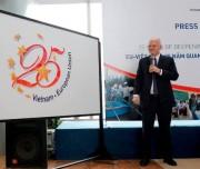 Nhiều hoạt động kỷ niệm 25 năm quan hệ Việt Nam - EU