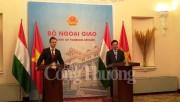 Thúc đẩy hợp tác nhiều mặt Việt Nam – Hungary