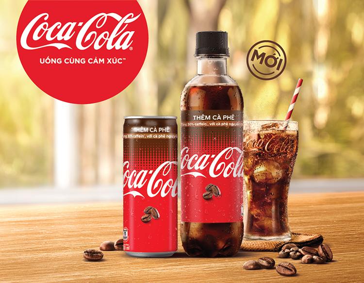 coca cola ra mat san pham them ca phe tai viet nam