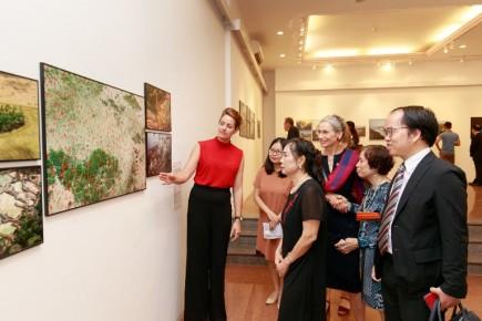 130 ảnh báo chí xuất sắc được trưng bày tại Triển lãm báo chí Thế giới Hà Nội