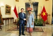 Củng cố quan hệ hợp tác Việt Nam - Indonesia