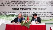 Việt Nam và Australia cam kết hợp tác lâu dài trong nghiên cứu nông nghiệp