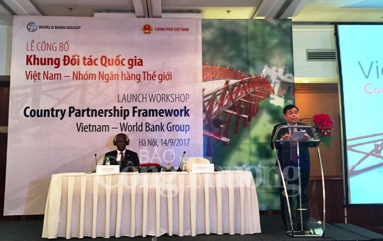 WB công bố Khung đối tác quốc gia mới với Việt Nam