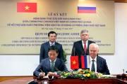 Việt Nam- Liên bang Nga: Ký Nghị định thư hỗ trợ sản xuất phương tiện vận tải