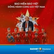 Tổng công ty bảo hiểm Bảo Việt đồng hành cùng đội tuyển bóng đá U23 Việt Nam