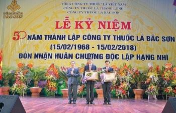 cong ty thuoc la bac son chiem linh thi truong bang chat luong san pham